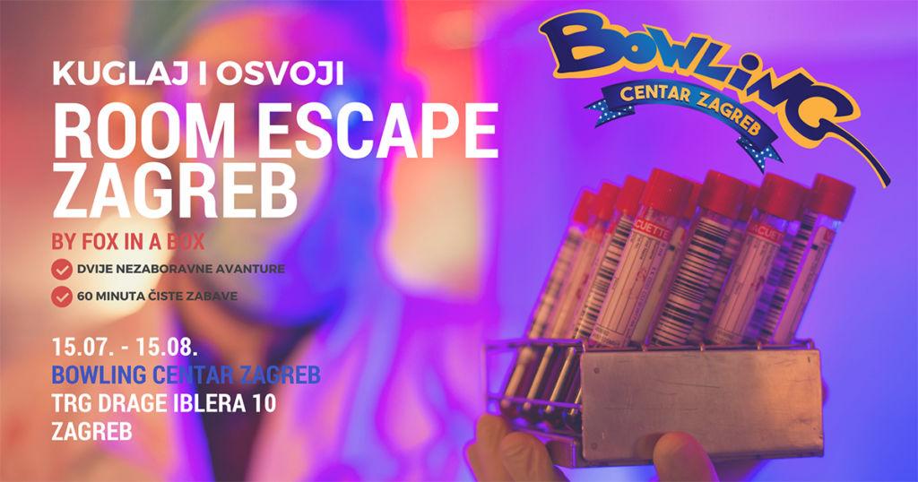 Vodimo Vas U Escape Room Bowling Centar Zagreb