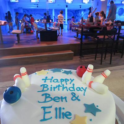 Proslava rođendana u bowling klubu
